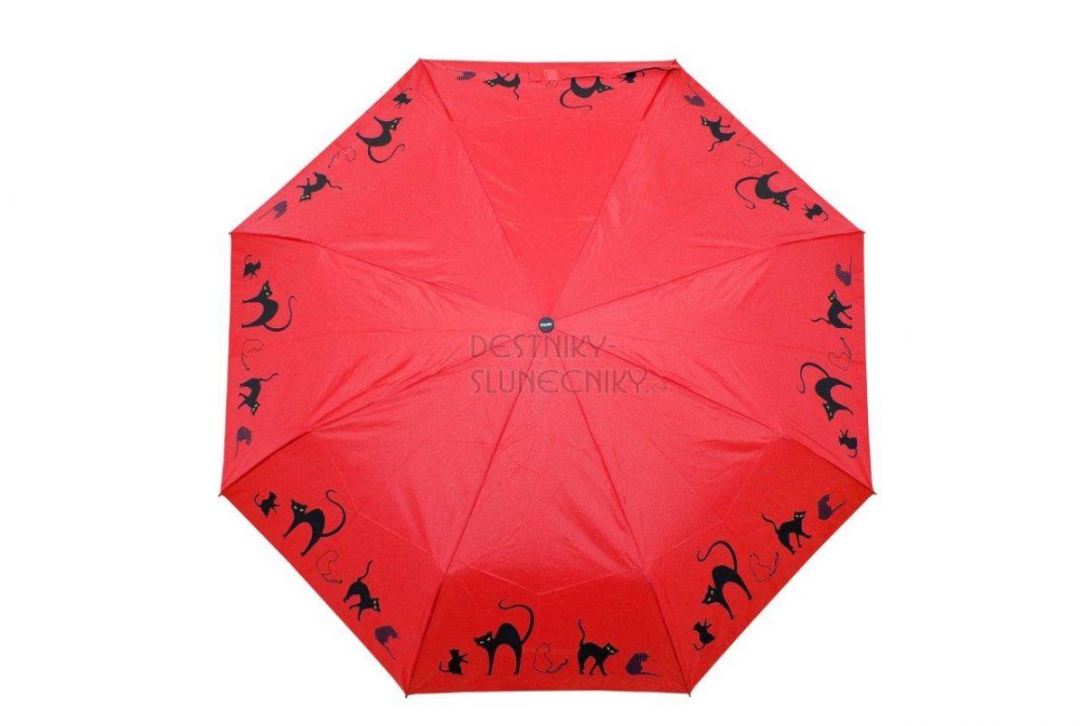 Dámský deštník s kočkou Magic Fiber Cats 18 DOPPLER
