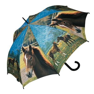 Dětský deštník Jugend DOPPLER koně