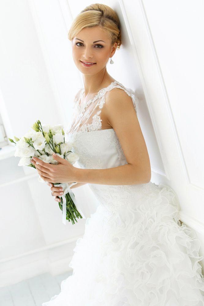 Dámský deštník Special Long Wedding Automatic DOPPLER