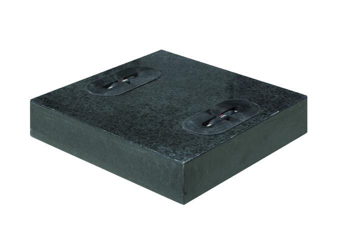 Design žulová dlaždice 35kg 40x40cm Doppler