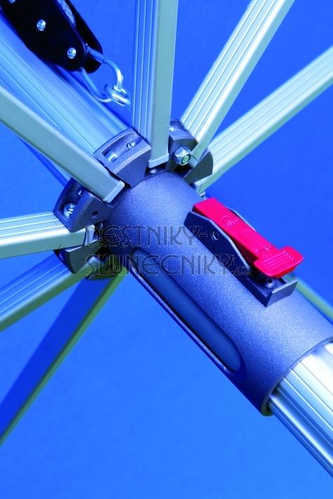 Slunečník Protect 3x3M se středovou tyčí Doppler